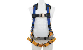 Blue Armor fall-protection harness
