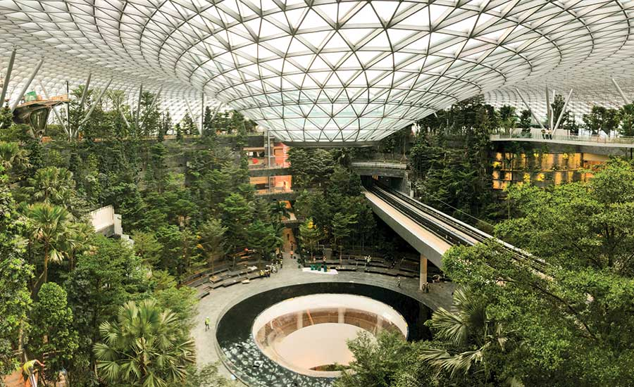 Garden Walk Mall: Singapore's Jewel Mall Project Was No Walk In The Park