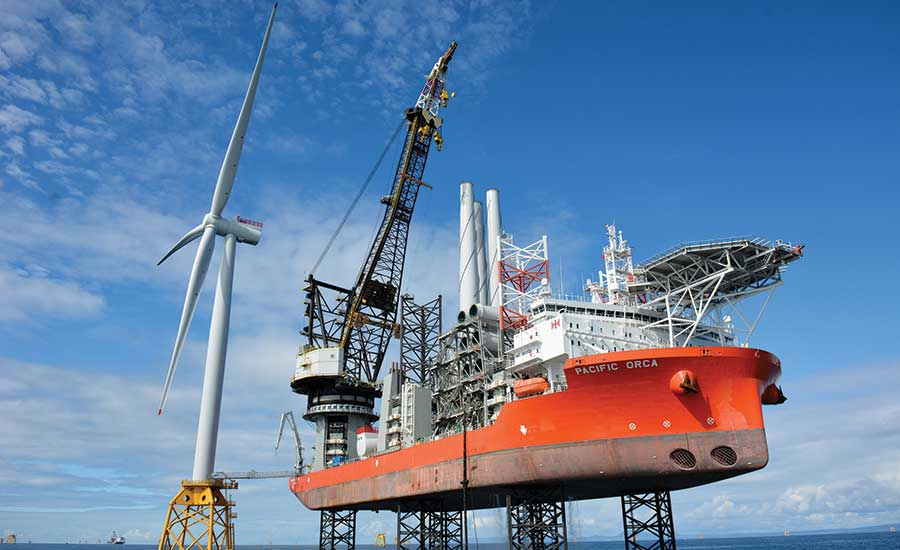 Offshore wind power design and construction