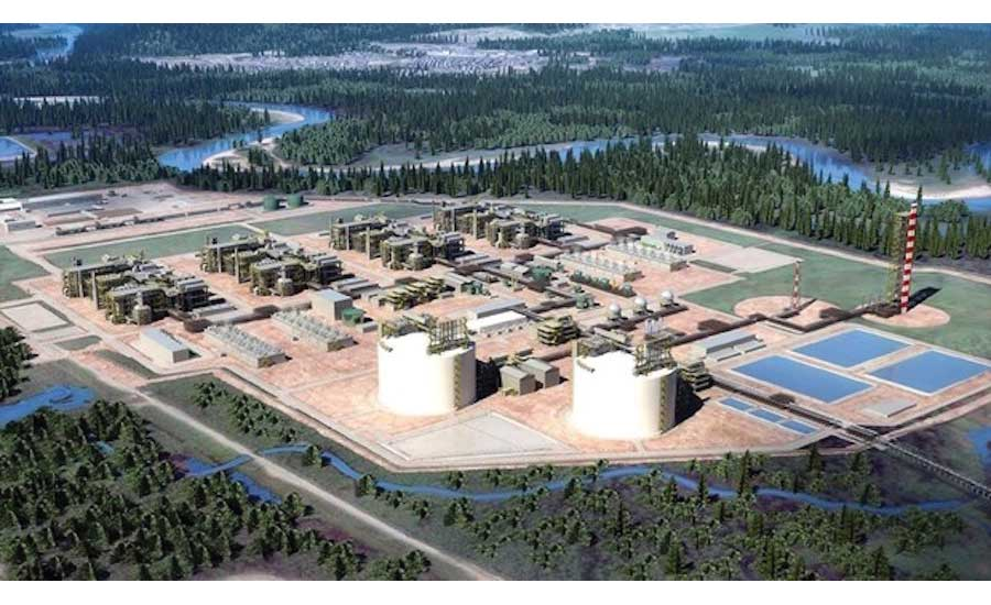 LNG Canada project