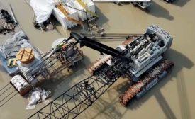Houston dam