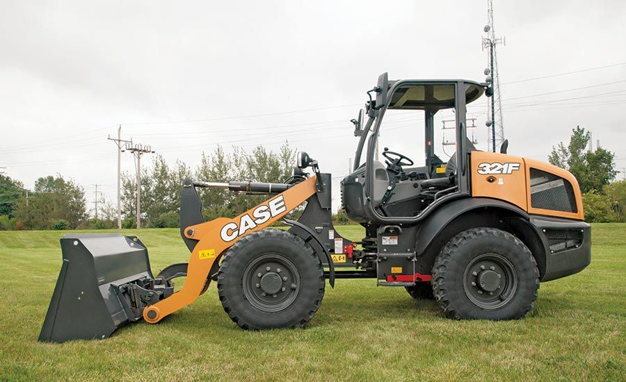 CASE F Series compact wheel loader