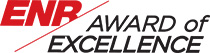 ENR Award of Excellence logo