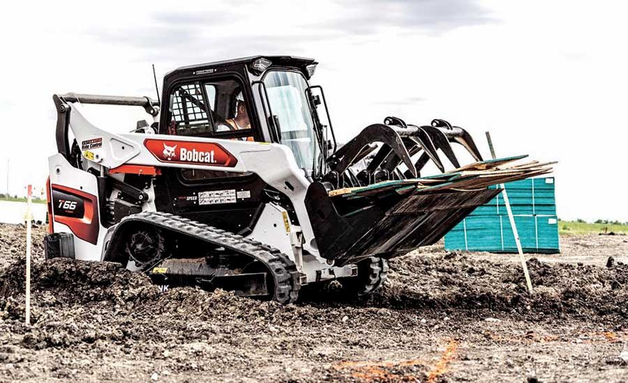 R-Series 60 frame-size compact track loader