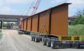 Steel bridge beam