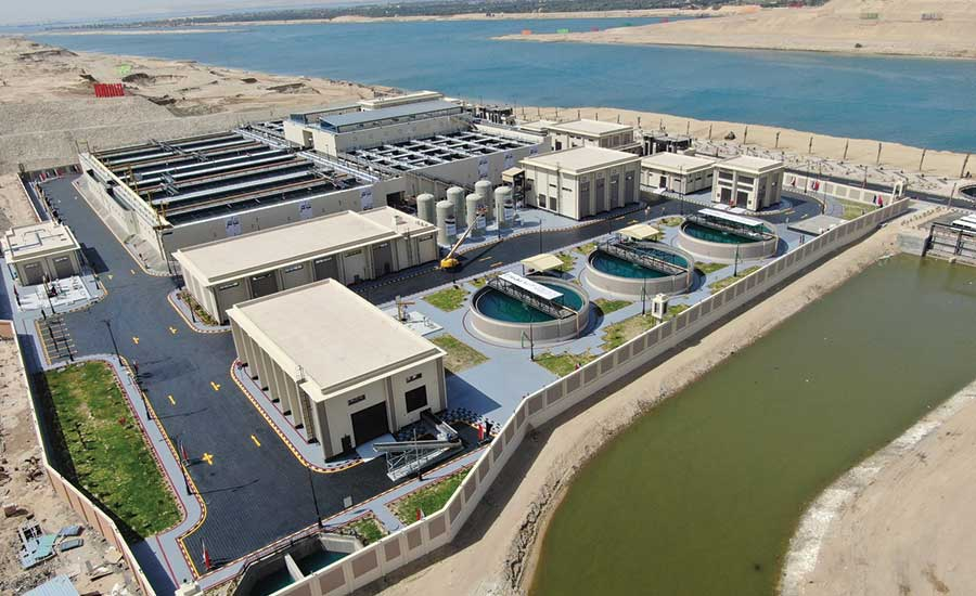 Best Project, Water/Wastewater: Al Mahsama Water Reclamation Plant