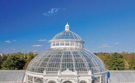 Enid A. Haupt Conservatory Palm Dome Restoration