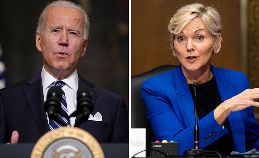 Biden, Granholm Tie Climate Change Efforts and Clean Energy to Jobs |  2021-01-27 | Engineering News-Record