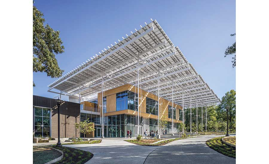 Project of the Year Finalist, Best Green Project: Kendeda Building for Innovative Sustainable Design