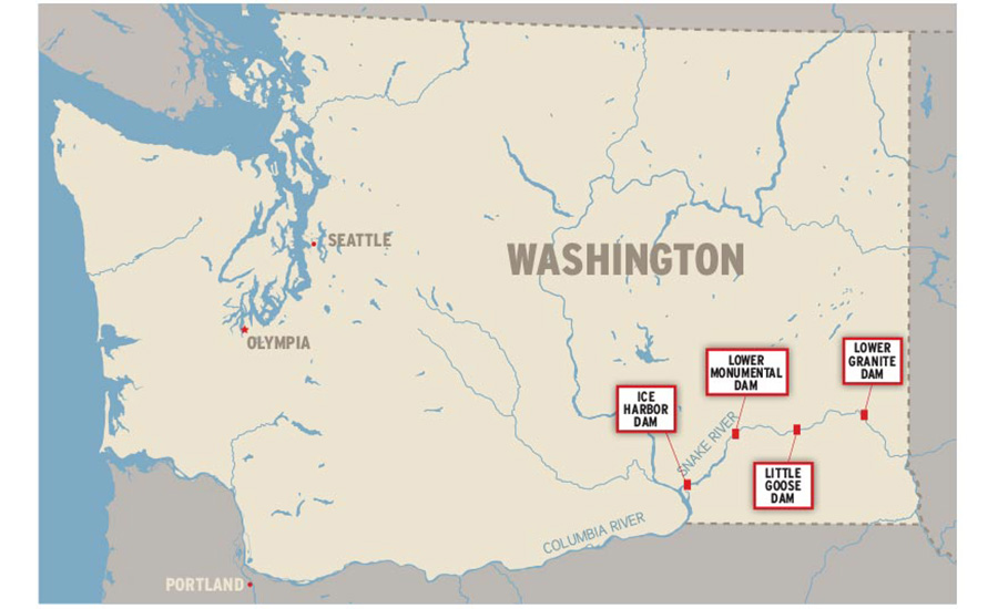 Congressman Floats $33B Plan to Demolish Four Dams