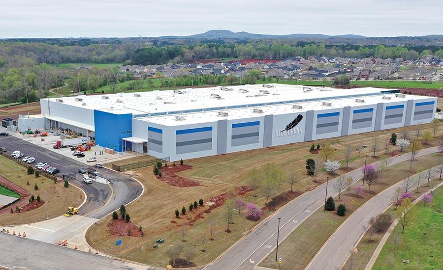 Best Manufacturing: Blue Origin Engine Facility