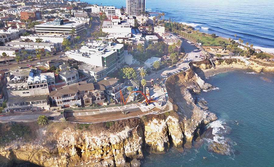 Best Small Project (Under $10 Million): Coast Boulevard Sea Cave Emergency Stabilization