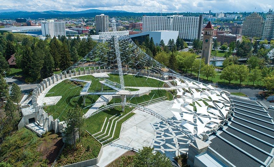 Best Landscape/Urban Development: Spokane Riverfront Park U.S. Pavilion