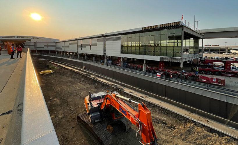 Modular construction at Dallas Fort Worth International Airport