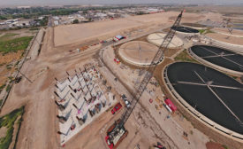 Salt Lake City's new wastewater treatment plant