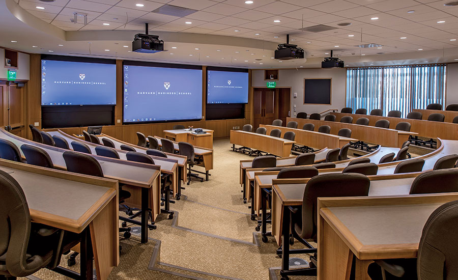 Harvard Business School, Tata Hall classroom
