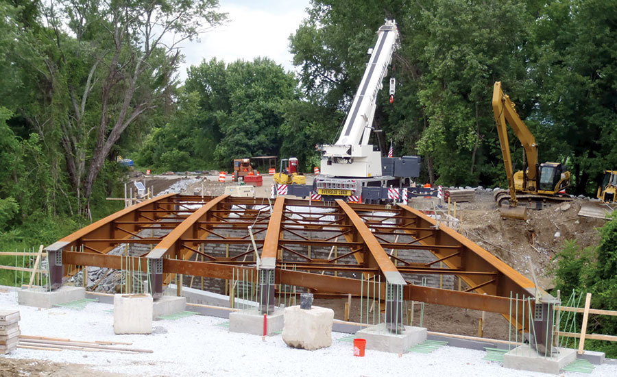 GRS-IBS Bridge Replacement over Housatonic Railroad