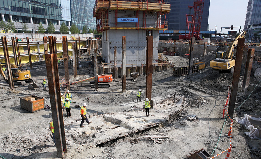 Skanska's 121 Seaport project
