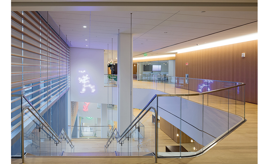 Novartis Cambridge Campus interior