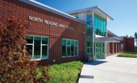 North Reading Middle/High School entrance