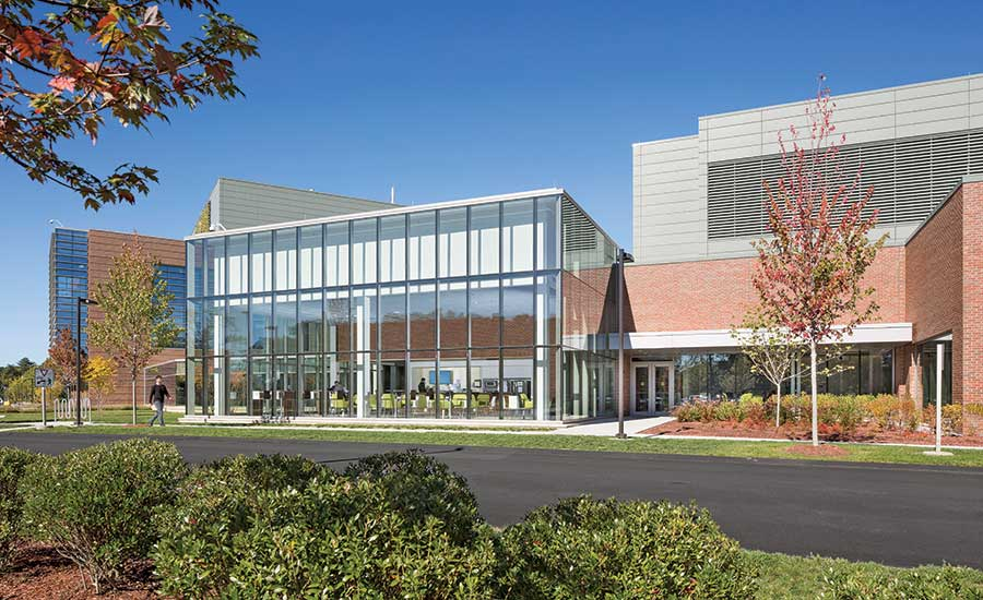 Biologics Development Building and Clinical Manufacturing Building