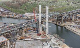 Kosciuszko Bridge cable-stayed span