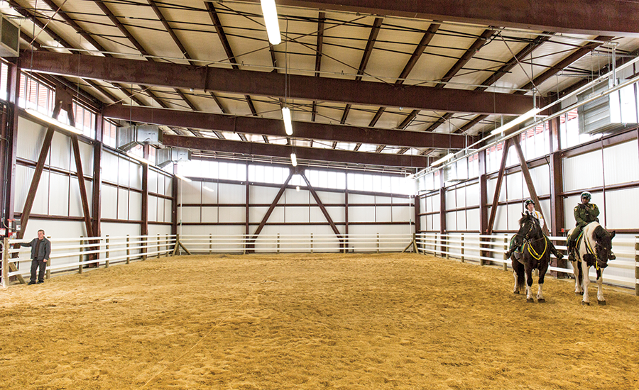 Small Project Best Project: Ocean Breeze Indoor Horse Riding Arena