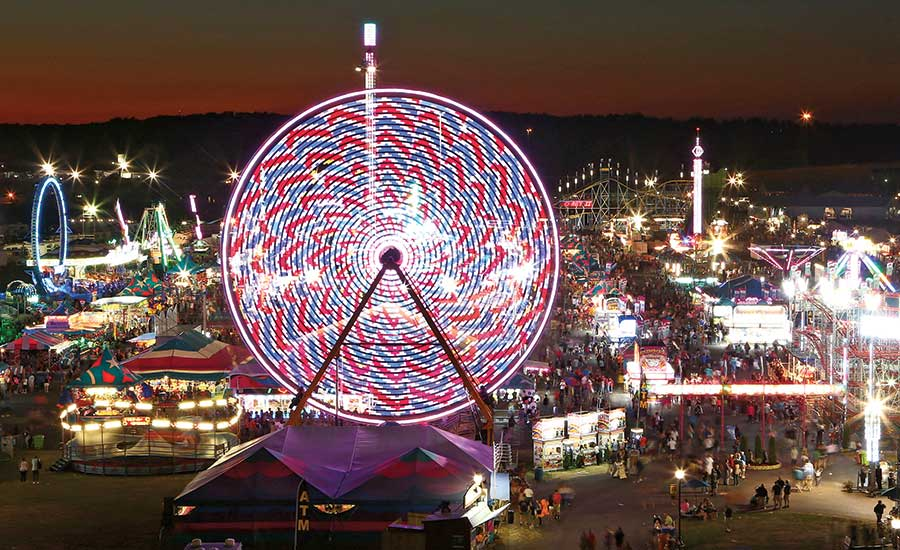 New York State Fairgrounds Midway