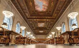 New York Public Library's Rose Reading Room