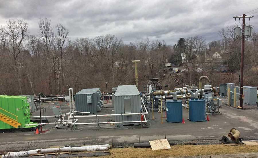 Thermally Enhanced Soil Vapor Extraction/Bioremediation at Former Chemical Plant