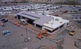 Vince Lombardi Travel Plaza project