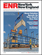 ENR New York & New England September 2020 cover