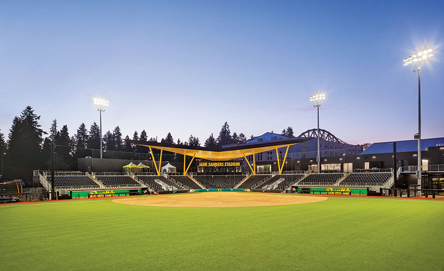 Best Sports Entertainment - University of Oregon - Jane Sanders Stadium