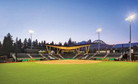 University of Oregon Jane Sanders Stadium
