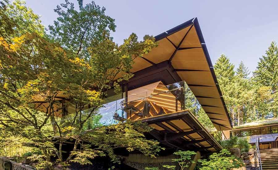 Northwest Project Of The Year Portland Japanese Garden Cultural Expansion Crossing 2017 12 05 Enr