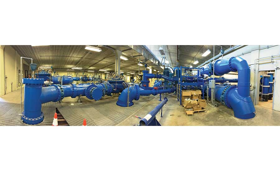 Ship Creek Water Treatment Facility Heat Exchanger