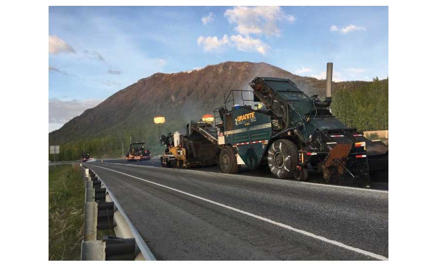 Glenn Highway Pavement Preservation