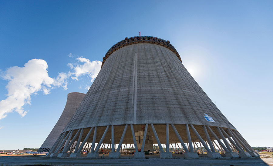 Plant Vogtle Unit 4 cooling tower