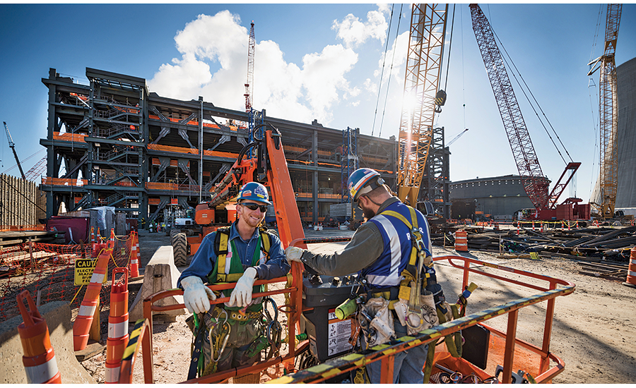 Craft workers at Plant Vogtle