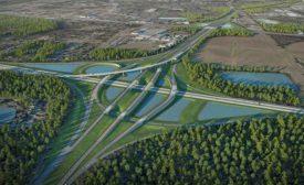 Interstate 95/I-295 North Interchange