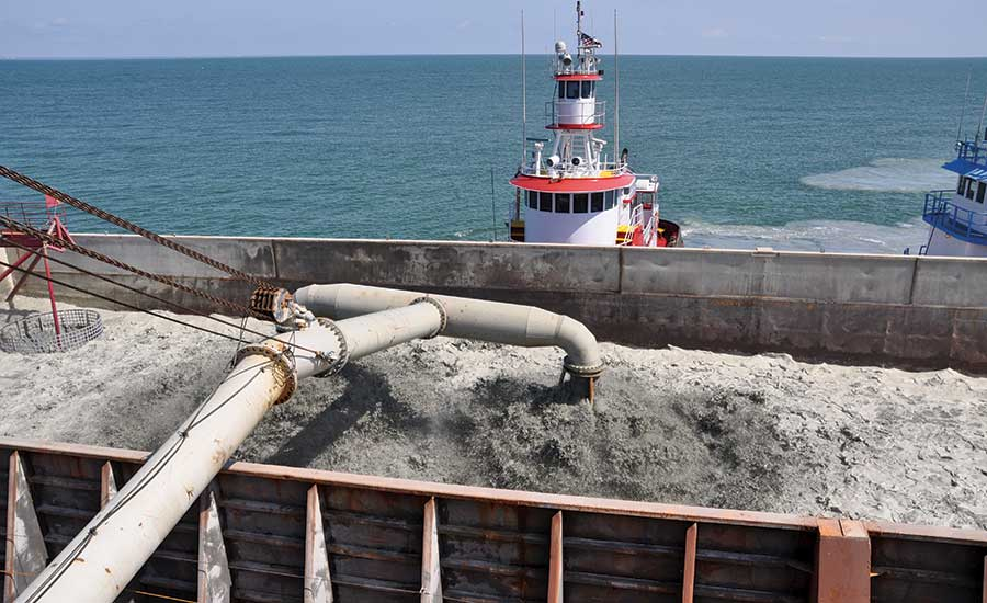Great Lakes Dredge & Dock Co.'s dredging contract