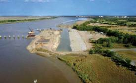 Sediment Basin Tide Gate removal project