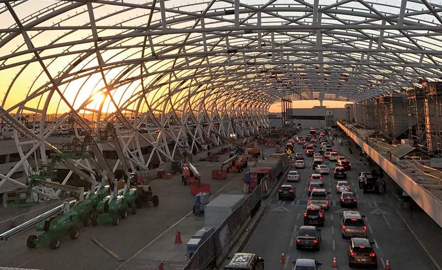Canopies Are Crown Jewel Of Atlanta Airport Upgrade 2018