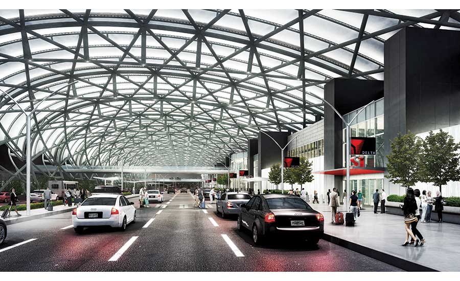 Canopies Are Crown Jewel Of Atlanta Airport Upgrade 2018 06 21
