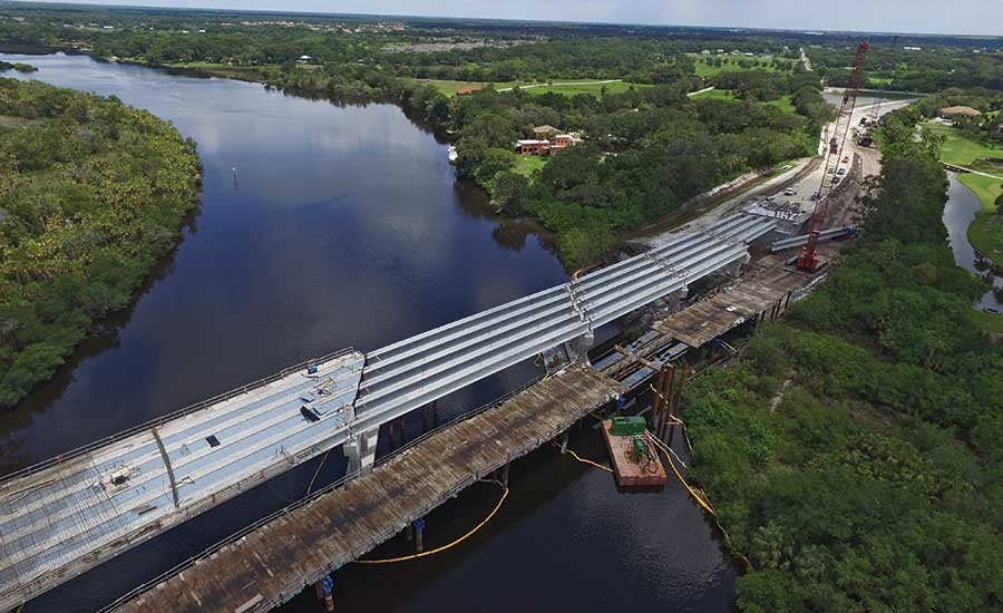 Fort Hamer Bridge Project with Road Improvements