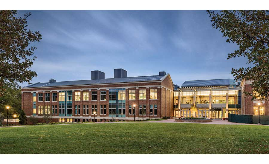 Davidson College's E. Craig Wall Jr. Academic Center