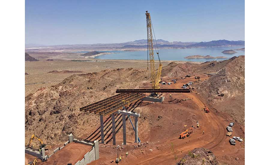 Construction on Interstate 11