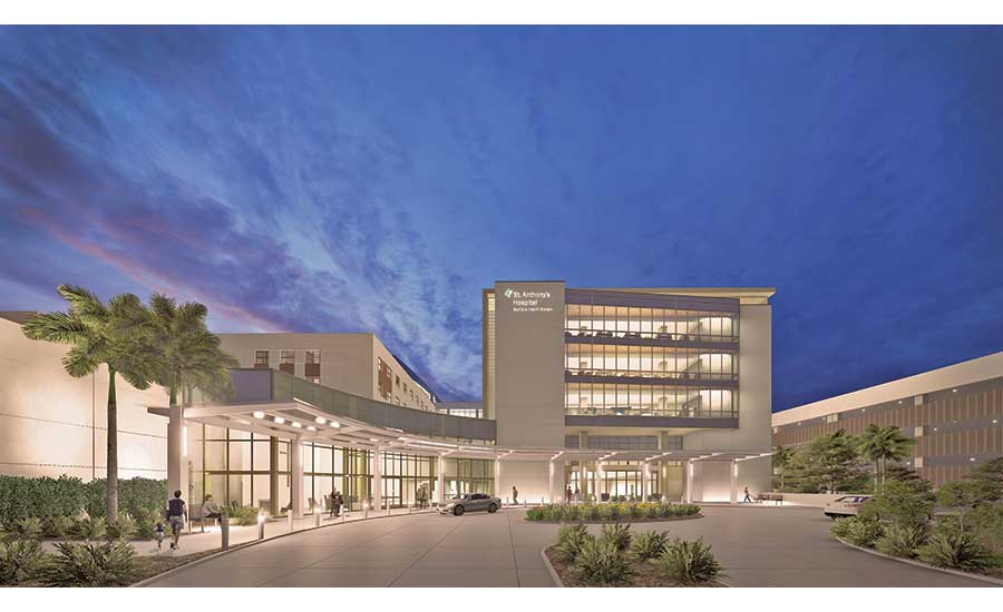 St. Anthony's Hospital Addition and Renovation project