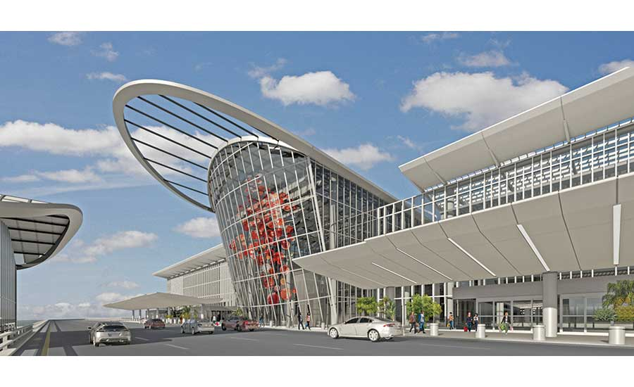 Orlando International Airport's new South Terminal Complex