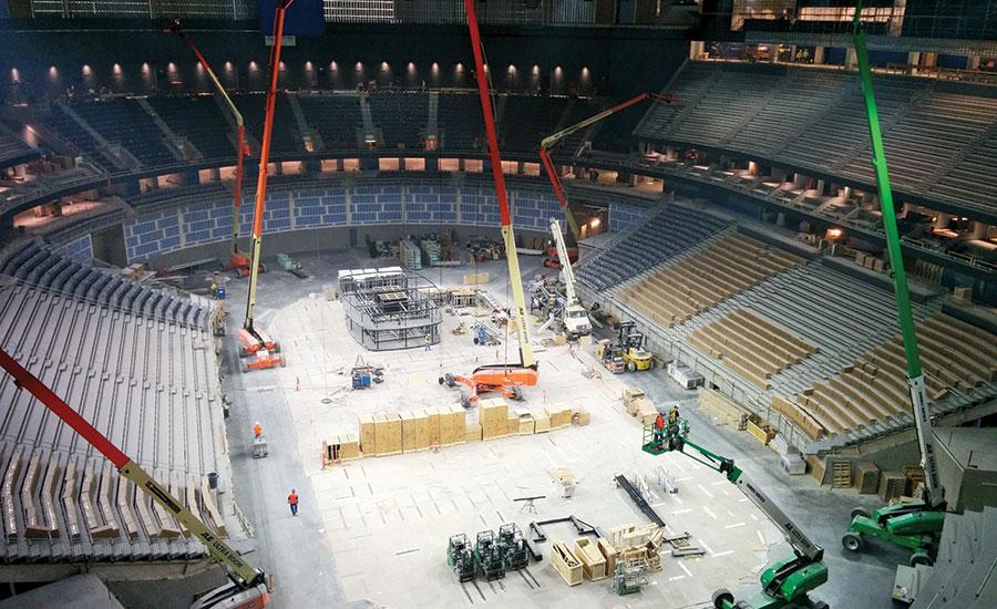 Las Vegas 39 Multipurpose Arena Goes Up Fast 2016 03 07 Enr